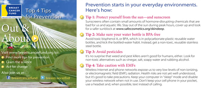 Tips for Prevention: Out and About