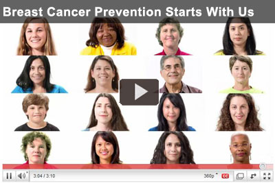 Video: Breast Cancer Prevention Starts With Us