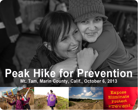 Peak Hike for Prevention 2013